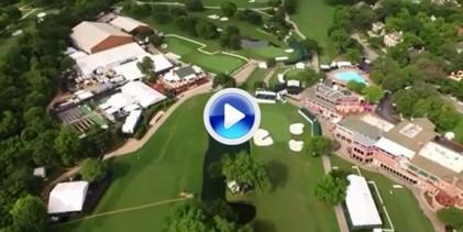 El Colonial Country Club a vista de pájaro. ¡Alucinante! (VÍDEO)