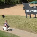 Espectadora motorizada. Foto: OpenGolf.es