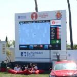 Pantalla gigante de TV. Foto: OpenGolf.es