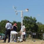 La estación meteorológica tan importante para el evento. Foto: OpenGolf.es
