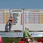 Leaderboard. Foto: OpenGolf.es