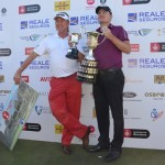 El campeón con Miguel Ángel Jiménez, subcampeón. Foto: OpenGolf.es