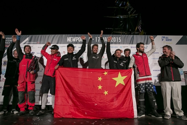 Dongfeng etapa 6 Billie Weiss-Volvo Ocean Race
