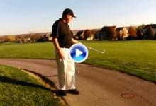 ¿A que lado del camino tenemos que dropar cuando la bola reposa en él? Aquí lo explicamos (VÍDEO)