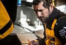 Cuarentena en Abu Dhabi Ocean Racing. Dos hombres están enfermos