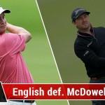English vs McDowell