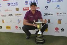 Morrison, campeón del Open de España: Un luchador dentro y fuera del campo