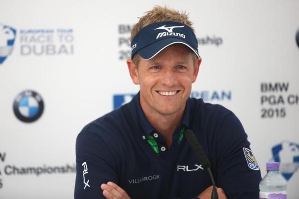 Luke Donald BMW PGA