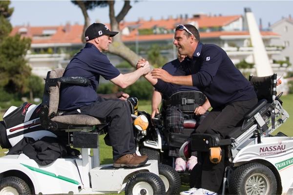 Mark Gibson y Richard Kluwen Foto Samuel Rodriguez
