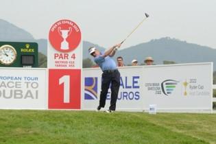 Jueves: Las mejores imágenes del Open de España en OpenGolf. García, Jiménez, Larrazábal, Galiano…