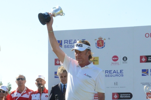 Miguel Ángel Jiménez, mejor español en el Open de España 2015. Foto: OpenGolf.es