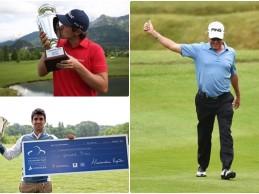 Fantástica semana para el golf español con los triunfos de Elvira y Piris y el 2º puesto de Jiménez