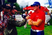 Nacho Elvira y su wedge ganador: «Fue el tiro perfecto, ejecuté el golpe tal y como yo quería»