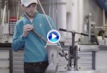 Justin Rose: la construcción de su palo perfecto comienza en Estados Unidos (VÍDEO)