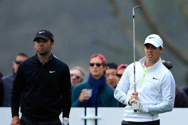 Paul Casey y Rory McIlroy Cadilla Match Play Foto @PGATOUR