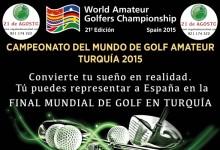 La World Amateur Golfers Champ. Spain llega a Segovia de la mano de Los Ángeles de San Rafael