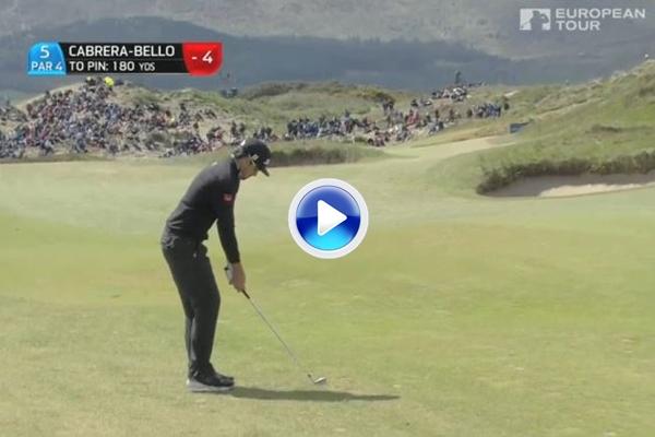 Rafa Cabrera-Bello Irish Open 4 2