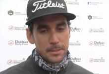 Rafa Cabrera-Bello sufrió en sus carnes la cruda realidad del golf. Todo por un mal golpe en el 18