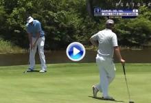 Purazo de Samuel del Val en Honduras. El español lidera con record en el PGA Tour Latino (VÍDEO)