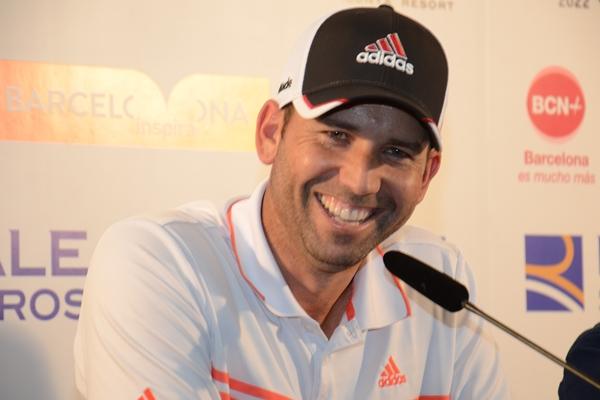 Sergio García durante la rueda de prensa. Foto: OpenGolf