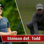 Stenson vs Todd