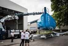 Seis meses después, Team Vestas Wind se pone en marcha hacia Lisboa