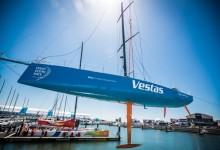 Team Vestas Wind vuelve al agua seis meses después de embarrancar
