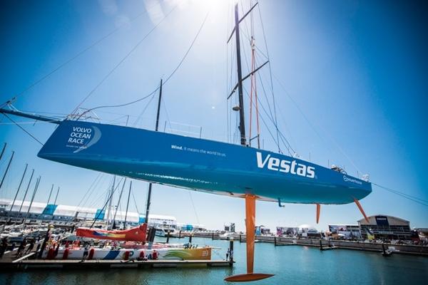 Team Vestas Wind vuelve al agua