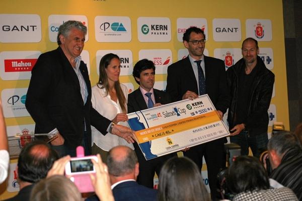 Cheque Casa España Salmes Cup 2015 600