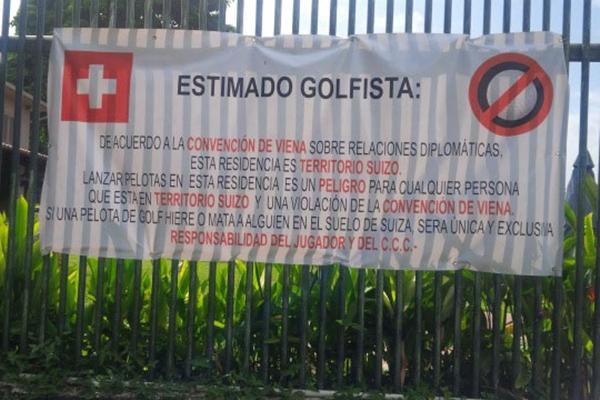 Embajada Suiza Foto lapatilla.com