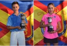 La cantera española ya tiene nuevos campeones. Josele Ballester y su hermana Julia, saga vencedora