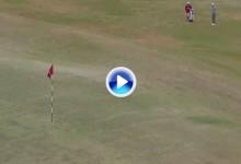 Lucas Glover necesitó de 4 golpes para entrar en green desde 20 m. desde el centro de calle (VÍDEO)