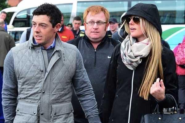 Rory McIlroy y Erica Stoll. Foto; vía Twitter