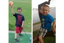 Ryan McGuire (6 años) jugará 100 hoyos en memoria de su amigo Danny (5) fallecido en abril