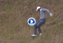 No se pierda los Highlights de la 2ª J. del US Open en el que incluye la caída de Tiger en el 10 (VÍDEO)
