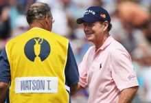 """Tom Watson, listo para decir su último adiós al golf: """"Será una despedida maravillosa del British"""""""