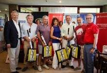 El Circuito Solidario de Golf Accionistas Banco Santander hizo parada en La Peñaza