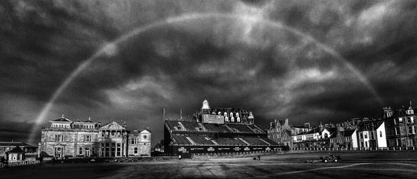 ArcoIris The Open Foto @EuropeanTour 2