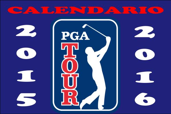 Calendario PGA Tour 2015-2016