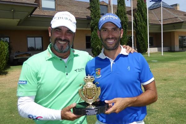 Carlos Balmaseda y Diego Suazo