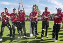 """El futbolista del Real Madrid Gareth Bale conquista con Gales la """"Celebrity Cup""""… de golf"""
