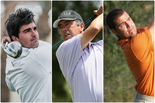 Gerard Piris, Jose Manuel Carriles y Carlos Aguilar