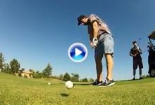 Sayonara, GoPro: Un golfista destroza su cámara con una desastrosa salida desde el tee (VÍDEO)