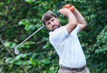Ivo Giner, Leonardo Lilja y el amateur Mario Pérez, primeros líderes en Golf Santa Marina