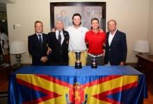 Jon Rahm-bo revalida título en el Campeonato de España Individual Masculino en Laukariz