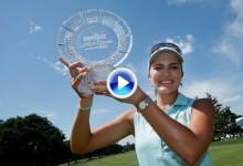 Meijer LPGA: Triunfo de L. Thompson en Michigan, Azahara termina 27º (VÍDEOS con los golpes del día)