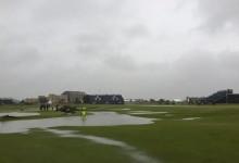El viento, la lluvia y el frío: los otros protagonistas de lo que ocurra en Royal Troon este fin de semana