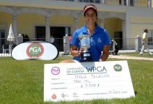 María Palacios conquista su primer título como profesional en el Campeonato WPGA de España