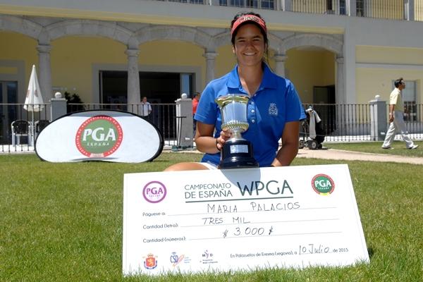 María Palacios Campeona WPGA Foto Luis Corralo