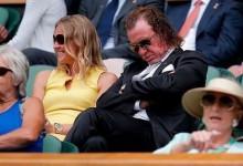El jet lag le pasó factura al Pisha: Jiménez echó una cabezadita en pleno partido de Wimbledon